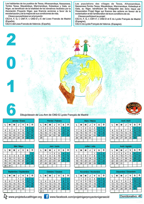calendrier niger1