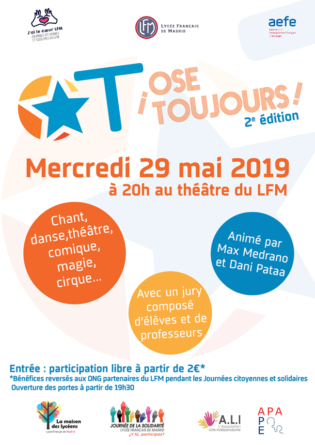 Affiche Ose toujours 2019