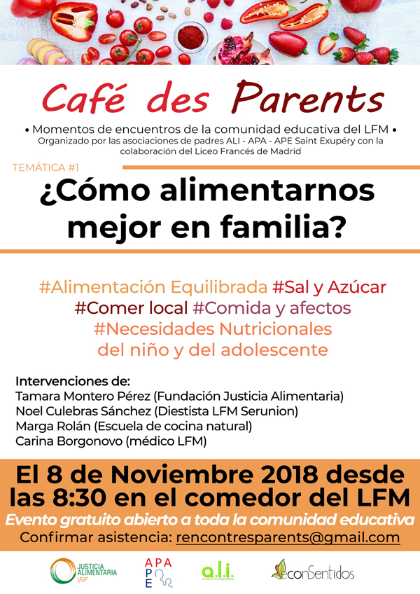 Cafe des parents alimentation des enfants ALI APA