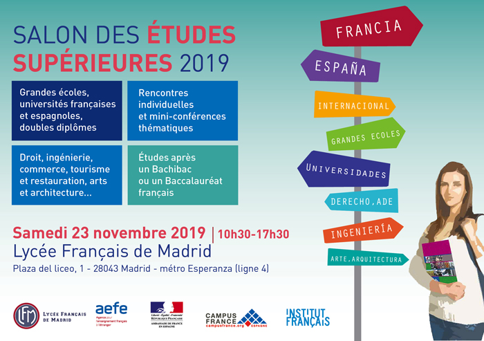 Save the date feria estudios superiores 2019 FR