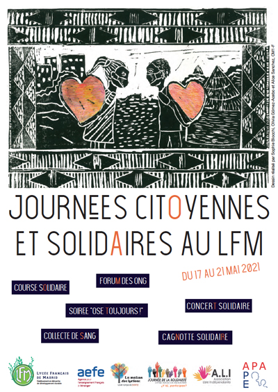affiche journees solidaires