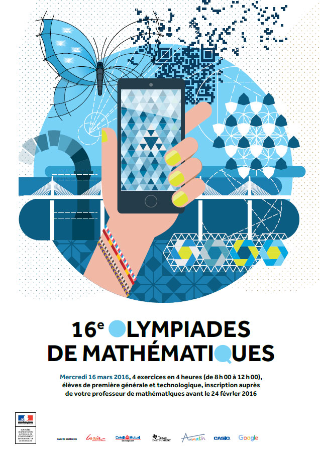 affiche olympiades mathematiques 2015